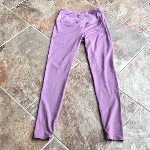 Size medium Kyodan light pinkish purple yoga pants